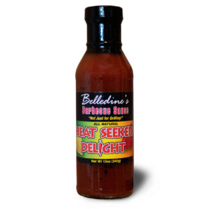 Belledines Heat Seeker's Delight Barbecue Sauce