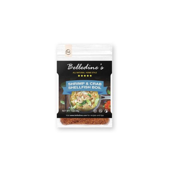 Belledines Mini Shrimp Crab Shellfish Boil