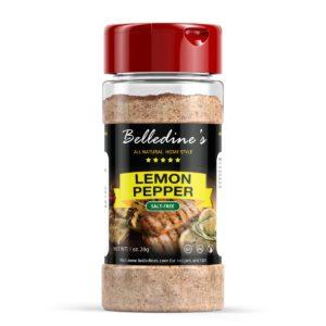 slat-free lemon pepper seasoning
