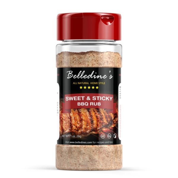 Sweet and sticky bbq rub seasoning