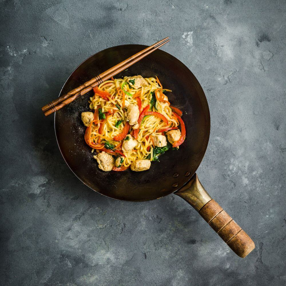Spicy Chicken and Noodle Stir Fry