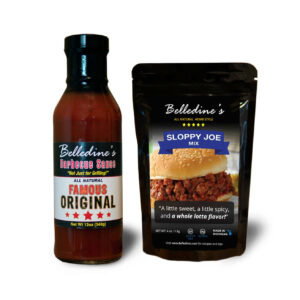 Belledines Sloppy Joe Combo